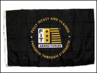 FIT-1 3' x 5' Fit Armed Forces Nylon Flag-0