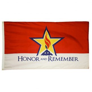 HRM-23 Honor & Remember 2' x 3' Outdoor Nylon Flag-0