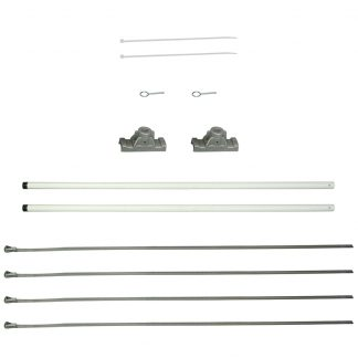 "FMSS-24 24"" Single Economy Fiberglass Mounting Sets-0"