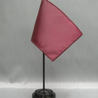 "NMF-46 MAROON Nylon 4"" x 6"" Mounted Solid Color Stick Flag - Maroon-0"