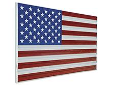 U.S. Aluminum Flags