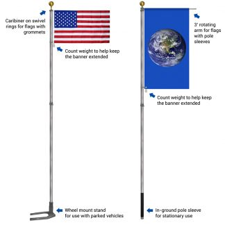 AFPB-19 Multi-Use Telescoping Pole-0