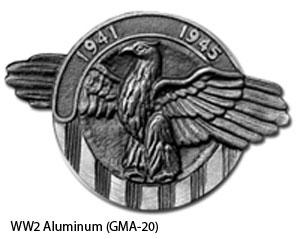 GMA-20 Grave Marker - World War I I Aluminum-0