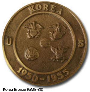 GMB-30 Grave Marker - Korea Bronze-0