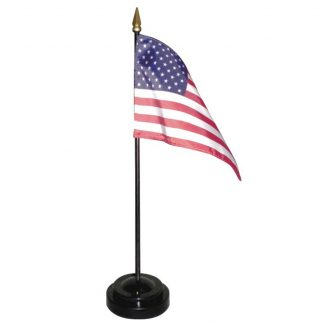 047300 Diplomat Desk Set As Shown With U.S. Flag-0