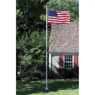 395 20' Sectional Fiberglass Flagpole-0