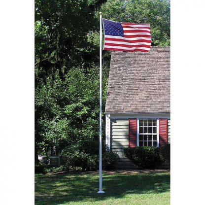395 20' Sectional Fiberglass Flagpole-0