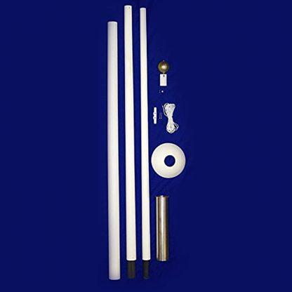 395 20' Sectional Fiberglass Flagpole-42690