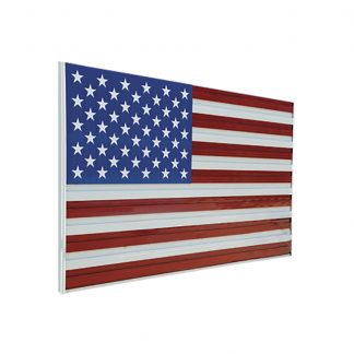 "ALF-1418 Stars & Stripes 104"" x 180"" Aluminum Flag -0"