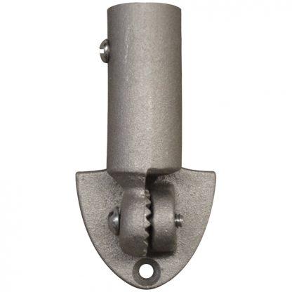 "IB-604 Up To 5/8"" Diameter Size- Silver Cast Aluminum-Adjustable-0"