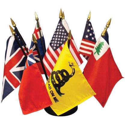 MS-102 Flags Of Our Country Desk Set-0