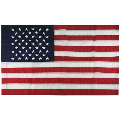 NF-130 2.5' X 4' U.S. Outdoor Nylon Flag with Pole Sleeve-0