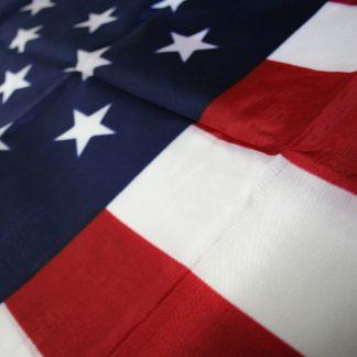 PF-199 3' X 5' Printed Cotton U.S. Flag-0