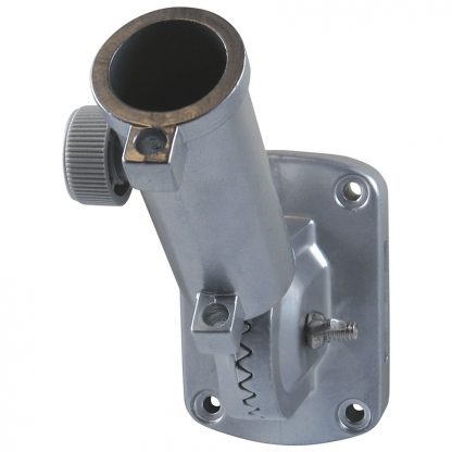 """SLB-110 1"""" Adjustable Silver Aluminum With Thumb Screw-0"""