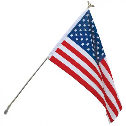 US-198BK Budget Home Set With 3' x 5' Printed Polyester Flag -0