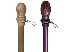 Natural Wood Flagpoles