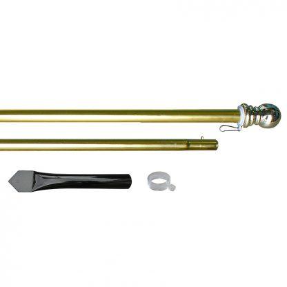 ADP-850CS 8' Gold Aluminum Display Pole-0