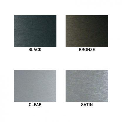 ECH25-BLACK 25' Black Anodized External Halyard-43592
