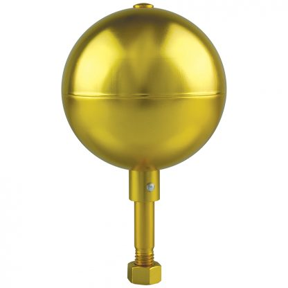 "GAB-110 Gold Anodized Ball 5"" Aluminum-0"