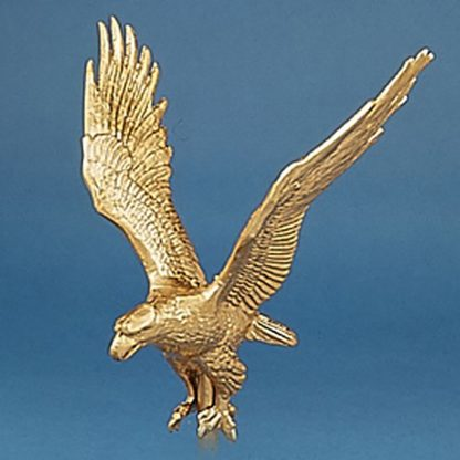 "GAE-120 Gold Alum. Eagle 16"" Wingspan With No Ball-0"