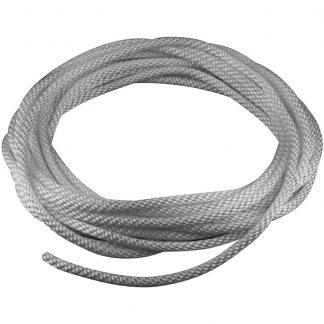 """HR-210 Halyard Rope Silver 5/16""""-0"""