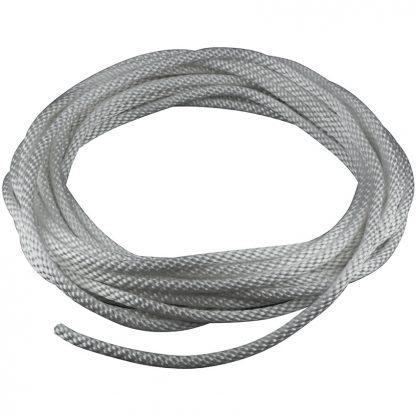 """HR-205 Halyard Rope Silver 1/4""""-0"""