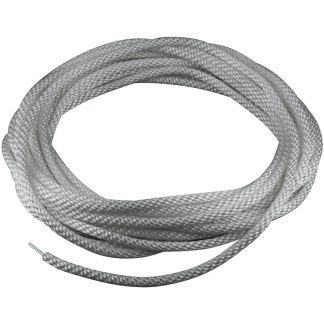 "HR-220 Halyard Wire Center Silver 1/4""-0"