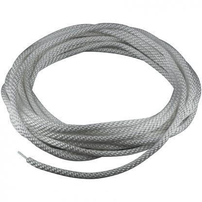 """HR-220 Halyard Wire Center Silver 1/4""""-0"""