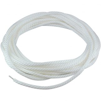 "HR-120 Halyard Wire Center White 1/4""-0"