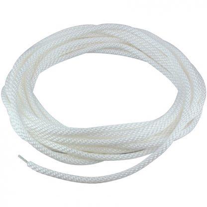 """HR-120 Halyard Wire Center White 1/4""""-0"""