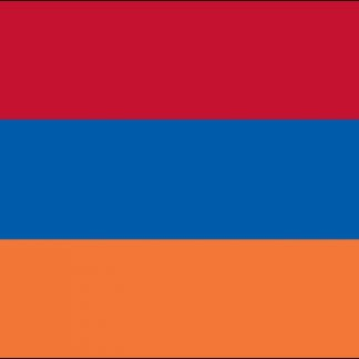 035013 Armenia 6' x 10' Outdoor Nylon Flag with Heading and Grommets-0