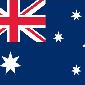 035015 Australia 6' x 10' Outdoor Nylon Flag with Heading and Grommets-0