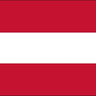 035016 Austria No Seal 6' x 10' Outdoor Nylon Flag with Heading and Grommets-0