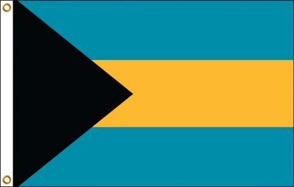 """IFM-03 Bahamas 12"""" x 18"""" Outdoor Nylon Flag with Heading and Grommets-0"""