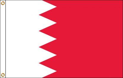 FW-135-3X5BAHRAIN Bahrain 3' x 5' Outdoor Flag with Heading and Grommets-0