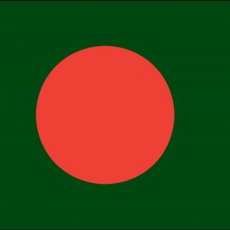 035021 Bangladesh 6' x 10' Outdoor Nylon Flag with Heading and Grommets-0