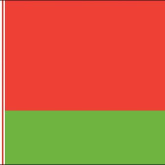 035024 Belarus 6' x 10' Outdoor Nylon Flag with Heading and Grommets-0
