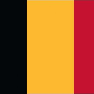 035025 Belgium 6' x 10' Outdoor Nylon Flag with Heading and Grommets-0