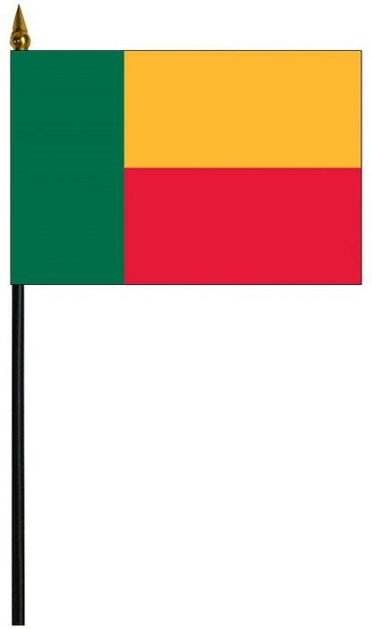 "MRF-46-BENIN Benin 4'' x 6"" Staff Mounted Rayon-0"