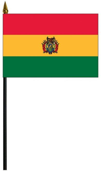 "MRF-46-BOLIVIA-S Bolivia w/Seal 4'' x 6"" Staff Mounted Rayon-0"