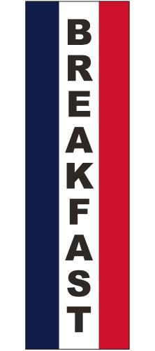 SQF-3X10-BREAKFAST Breakfast 3' x 10' Message Square Flag-0