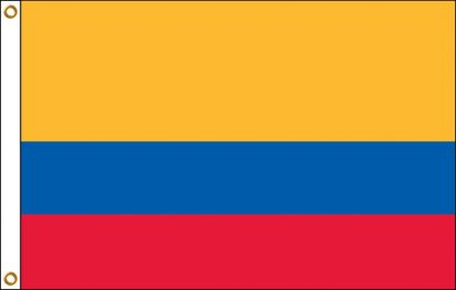 035070 Ecuador 6' x 10' Outdoor Nylon Flag with Heading and Grommets-0