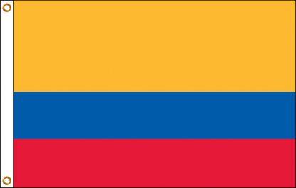 FW-110-ECUADOR Ecuador 2' x 3' Outdoor Nylon Flag with Heading and Grommets-0