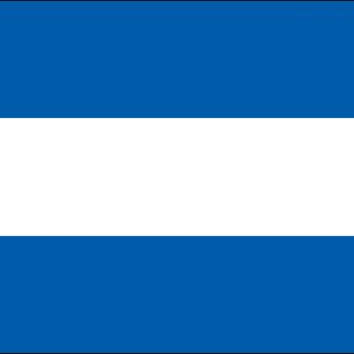 035073 El Salvador 6' x 10' Outdoor Nylon Flag with Heading and Grommets-0