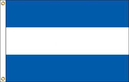 FW-110-ELSALVADOR El Salvador 2' x 3' Outdoor Nylon Flag with Heading and Grommets-0