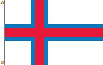 FW-135-5X8FAROEISLAN Faroe Islands 5' x 8' Outdoor Nylon Flag with Heading and Grommets-0