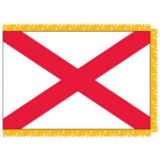 SFI-204-ALABAMA Alabama 4' x 6' Indoor Flag-0