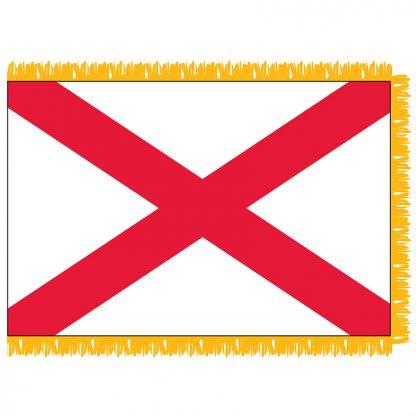 SFI-203-ALABAMA Alabama 3' x 5' Indoor Flag-0