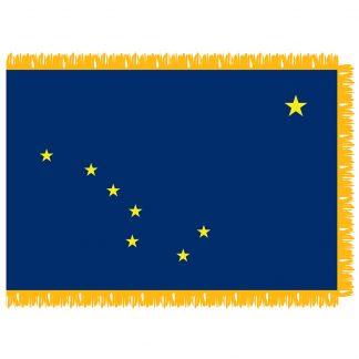 SFI-204-ALASKA Alaska 4' x 6' Indoor Flag-0