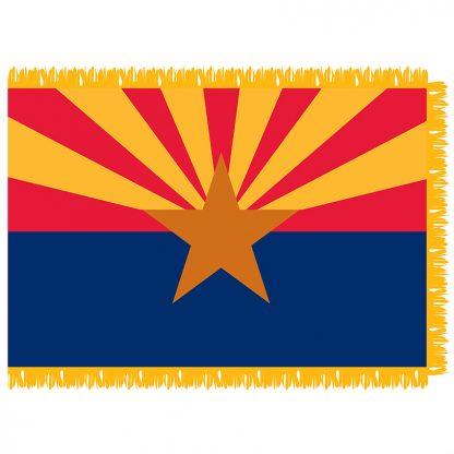 SFI-204-ARIZONA Arizona 4' x 6' Indoor Flag-0